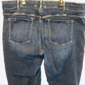 Lane Bryant jeans tummy control panel size 28W